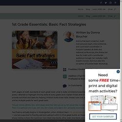 1st Grade Essentials: Basic Fact Strategies