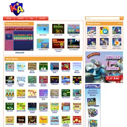 1st Grade Games – Fun, Free, Online Games for 1st Graders