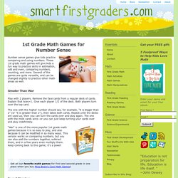 1st Grade Math Games - Smart First Graders