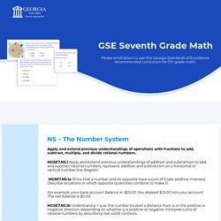 7th Grade Math Test Online