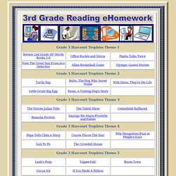 3rd Grade Reading Homework Place