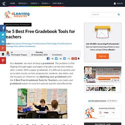The 5 Best Free Gradebook Tools for Teachers