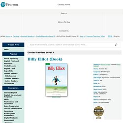 Graded Readers Level 3 - Billy Elliot (Book)   (Level 3) by Melvin Burgess (retold by Karen Holmes) on Pearson Japan K.K