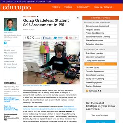 Going Gradeless: Student Self-Assessment in PBL