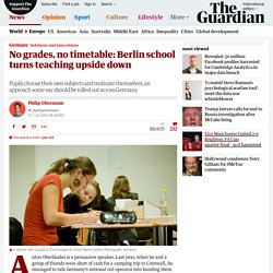No grades, no timetable: Berlin school turns teaching upside down