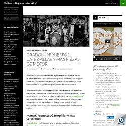 Gradolí: repuestos Caterpillar y más piezas de motor