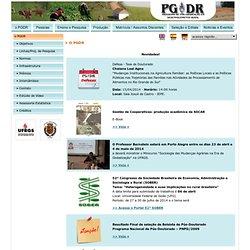 PGDR - Programa de Pós-Graduação em Desenvolvimento Rural