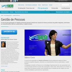 Pós-Graduação EaD em Gestão de Pessoas - UniSEB Interativo
