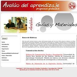 graduados.uprrp.edu/plan_avaluo/banco.html