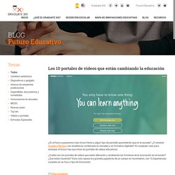 Futuro Educativo » Los 10 portales de videos que están cambiando la educación