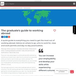 The graduate's guide to working abroad