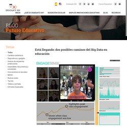 Graduate XXI » Está llegando: dos posibles caminos del Big Data en educación