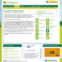 Our Graduate Scheme - Morrisons Graduates