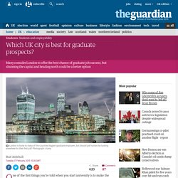 Which UK city is best for graduate prospects?