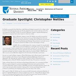 Graduate Spotlight: Christopher Nettles - NAU