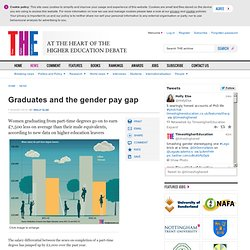 Graduates and the gender pay gap