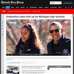 Graduation rates inch up for Michigan high schools