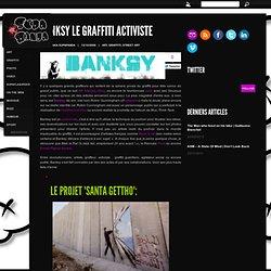 Banksy le graffiti activiste