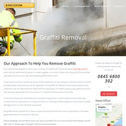 Graffiti Removal in Kirkcaldy Edinburgh, Scotland - Kingdom Clear