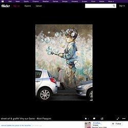 street art & graffiti Vitry-sur-Seine - Alicè Pasquini
