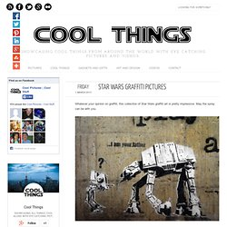 40 Cool Star Wars Graffiti Pictures - Cool Pictures