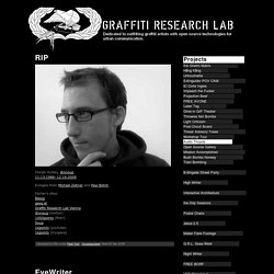 Graffiti Research Lab