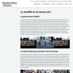Le Graffiti et le Street Art - Speerstra