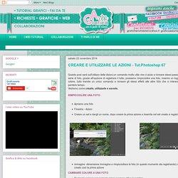 CREARE E UTILIZZARE LE AZIONI - Tut.Photoshop 67