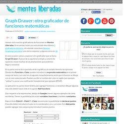 Graph Drawer: otro graficador de funciones matemáticas