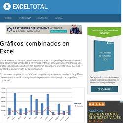 Gráficos combinados en Excel - Excel Total