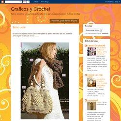 Graficos y Crochet: Bolso Jolie