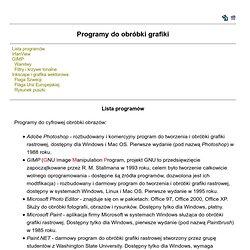 Grafika - programy