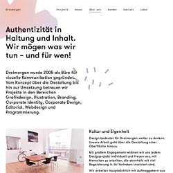 Grafikdesign, Branding, Corporate Design in Frankfurt - Dreimorgen - Über Uns