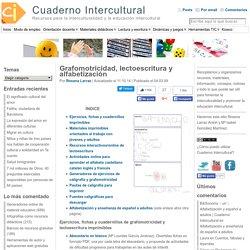 Recursos de grafomotricidad, lectoescritura y alfabetización