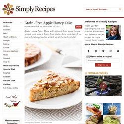 Grain-Free Apple Honey Cake Recipe