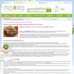 Graines germées - Cuisine sante