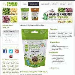 Graines à germer et germoirs: graines de trèfle rouge