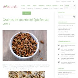 Graines de tournesol épicées au curry