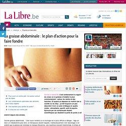La graisse abdominale : le plan d'action pour la faire fondre