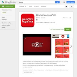 Gramática Española - Android Apps on Google Play