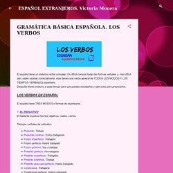 GRAMÁTICA BÁSICA ESPAÑOLA. LOS VERBOS