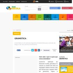 Gramática. Tudo sobre Gramática você encontra aqui! - Brasil Escola
