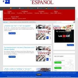Gramática española Archivos - practica Español