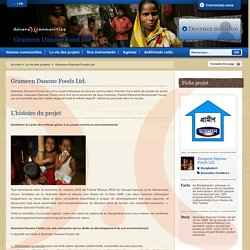 Grameen Danone Foods Ltd