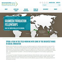 Grameen Foundation Fellowships