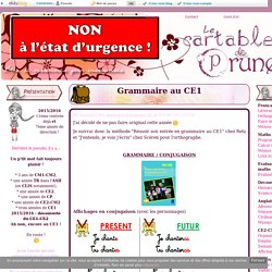 Grammaire au CE1