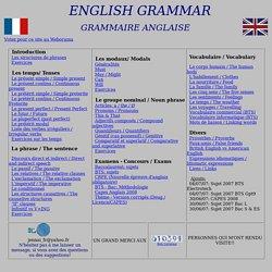 Grammaire de l'anglais