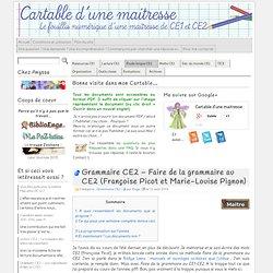 Grammaire CE2 – Faire de la grammaire au CE2 (Françoise Picot et Marie-Louise Pignon)