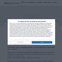 L'INTERROGATION