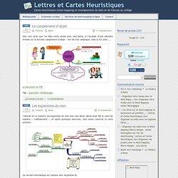 » grammaire - Lettres et Cartes Heuristiques